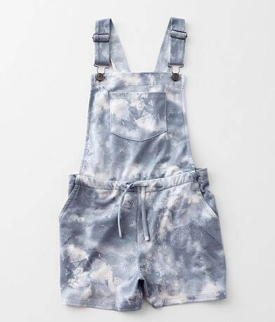 Girls - Daytrip Tie-Dye Overall Short