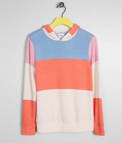 Girls - Daytrip Color Block Hooded Sweatshirt