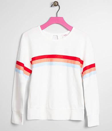 Girls - Daytrip Striped Lightweight Pullover