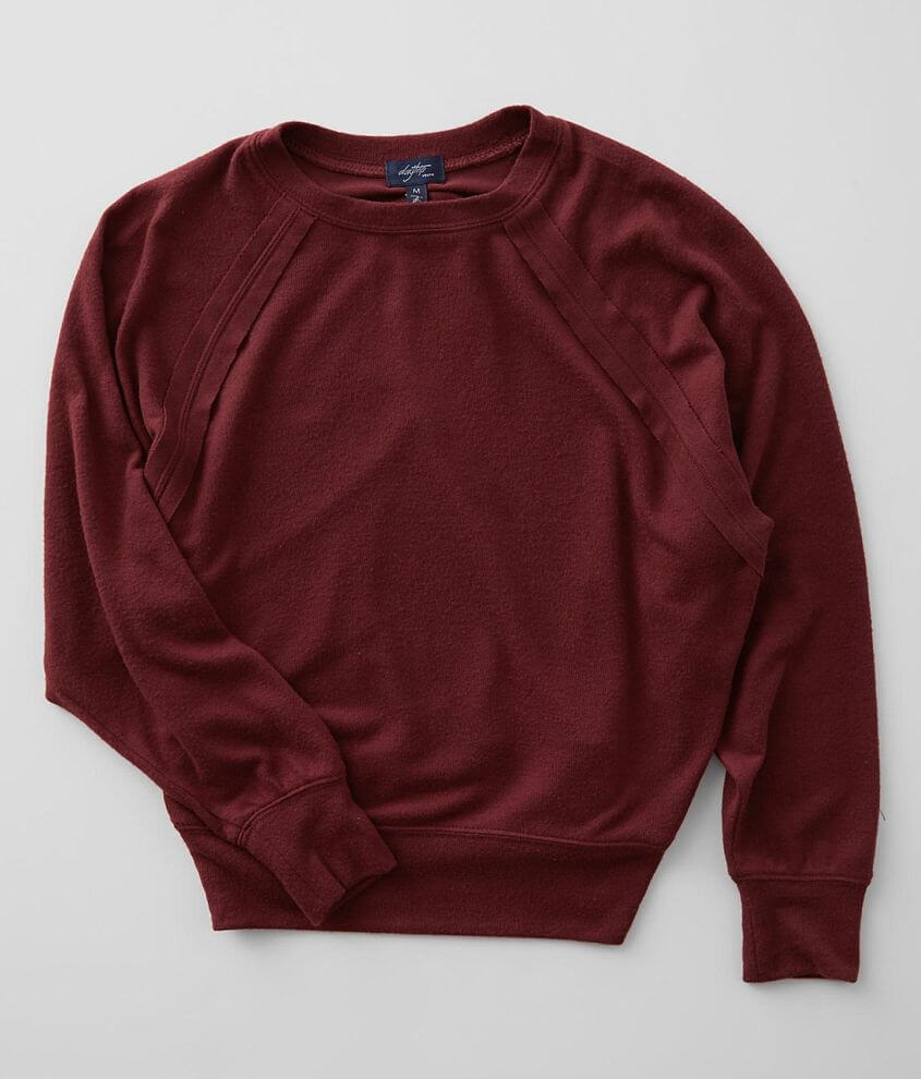 Girls - Daytrip Brushed Knit Dolman Pullover front view