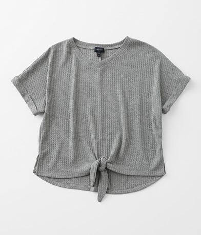 Girls - Daytrip Waffle Knit Top