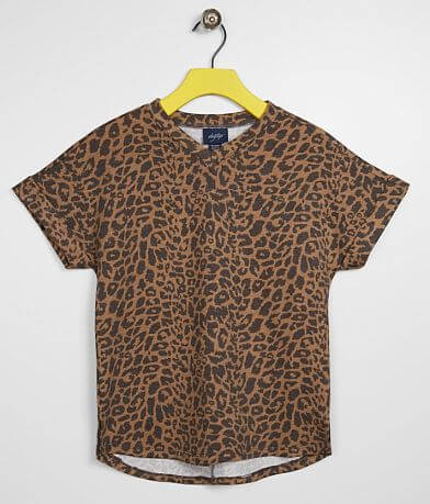 Girls - Daytrip Cheetah V-Neck Top