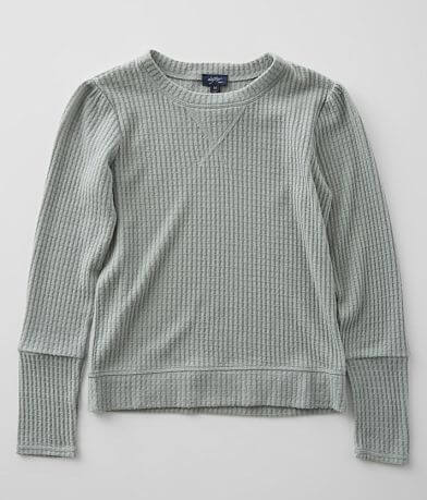Girls - Daytrip Brushed Waffle Knit Top