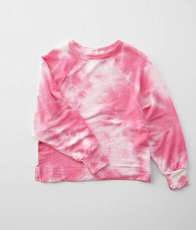 Girls - Walking On Sunshine Tie Dye Pullover