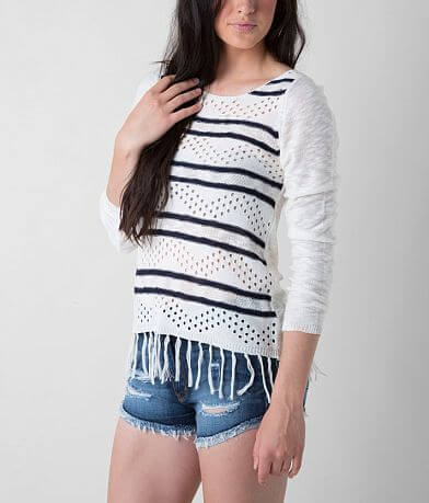 Daytrip Fringe Sweater