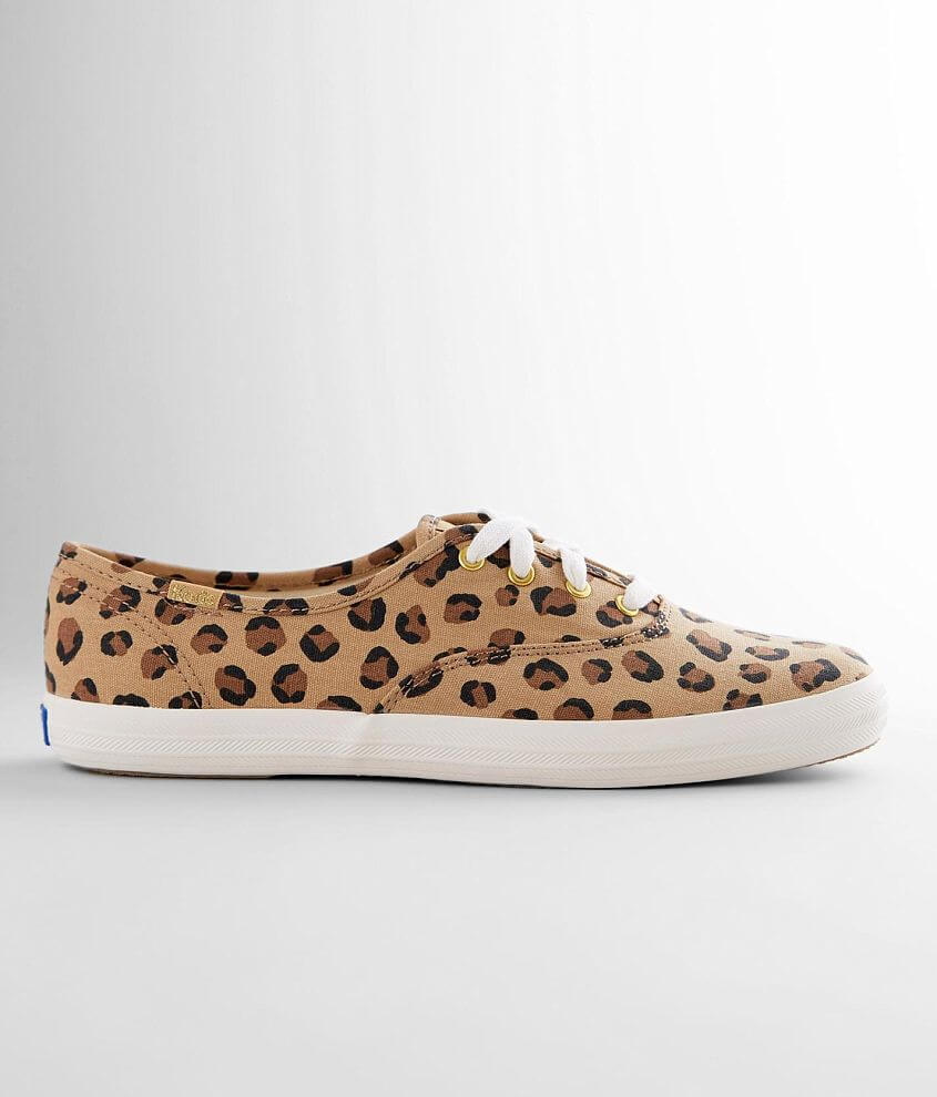 Keds® Champion Leopard Sneaker front view
