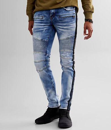 PREME Peruvian Moto Skinny Stretch Jean