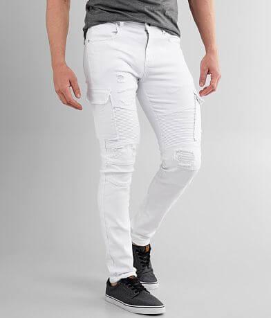 PREME Cargo Moto Skinny Stretch Jean