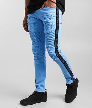 PREME Powder Blue Skinny Stretch Jean