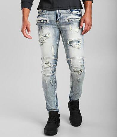 PREME Male Indigo Skinny Stretch Jean