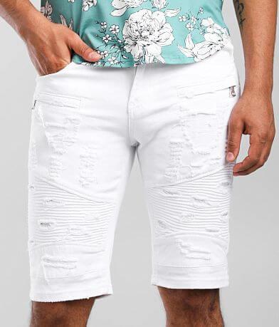 PREME White Moto Stretch Short