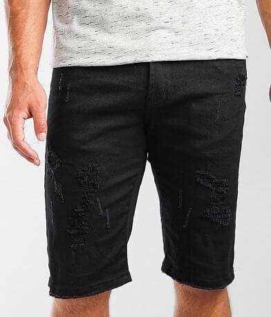 PREME Black Stretch Short