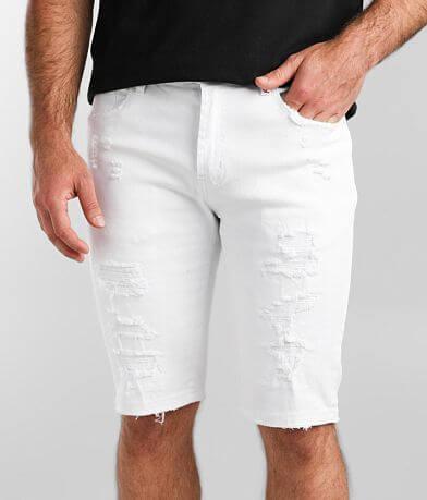 PREME White Stretch Short