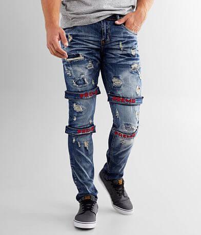PREME Indigo Skinny Stretch Jean