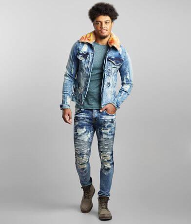 PREME Morocco Denim Stretch Jacket