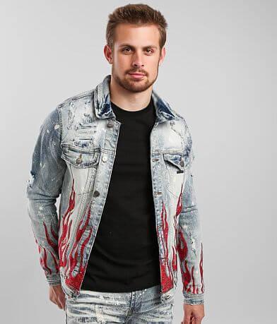 PREME Indigo Denim Stretch Jacket