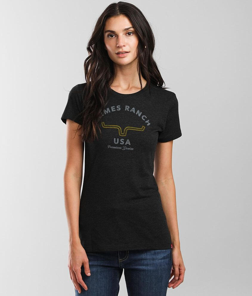 Kimes Ranch Arch T-Shirt front view