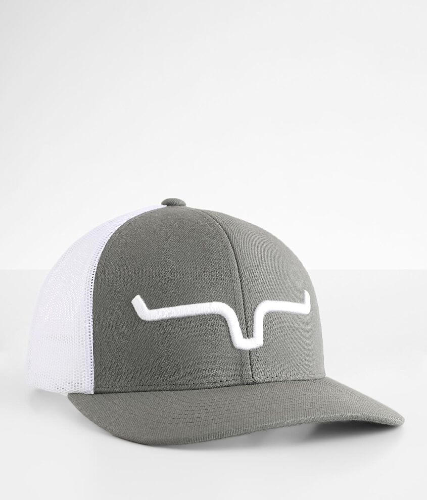 Kimes Ranch Weekly Trucker Hat front view