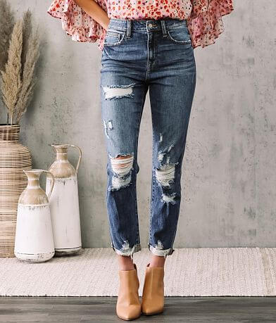 Willow & Root Ultra High Mom Fit Stretch Jean