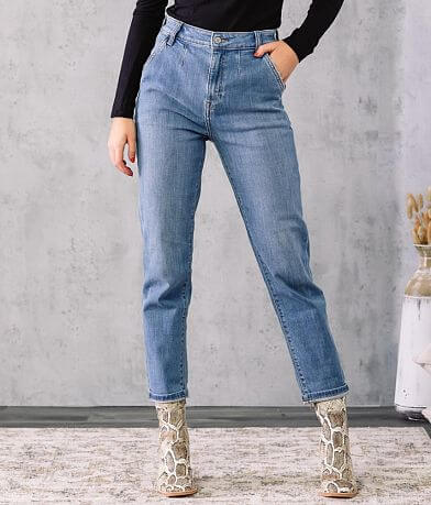 Willow & Root The Ultra High Rise Mom Fit Jean