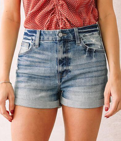 Willow & Root The Mom Fit Cuffed Short