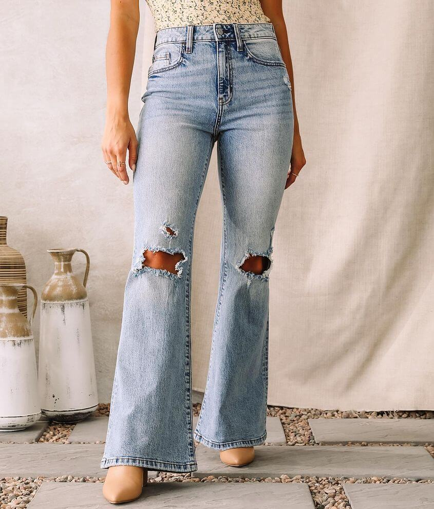 Willow & Root The Flared Out Jean front view