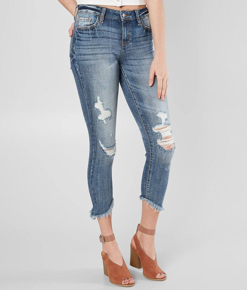 Willow & Root Mid-Rise Ankle Skinny Jean front view