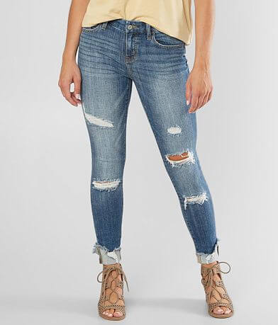 Willow & Root Mid-Rise Skinny Cuffed Jean