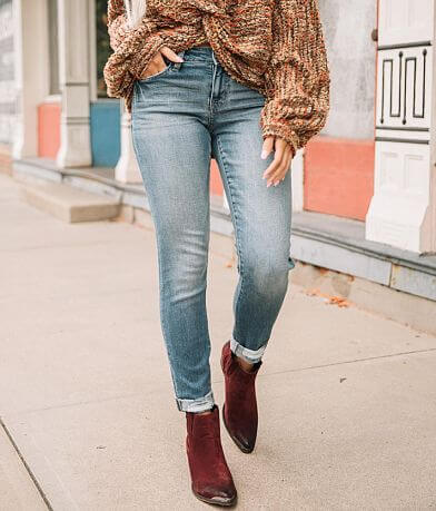 Willow & Root Mid-Rise Ankle Skinny Jean