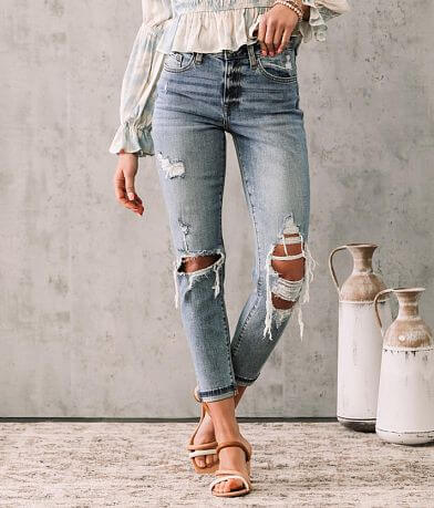 Willow & Root High Rise Ankle Jean