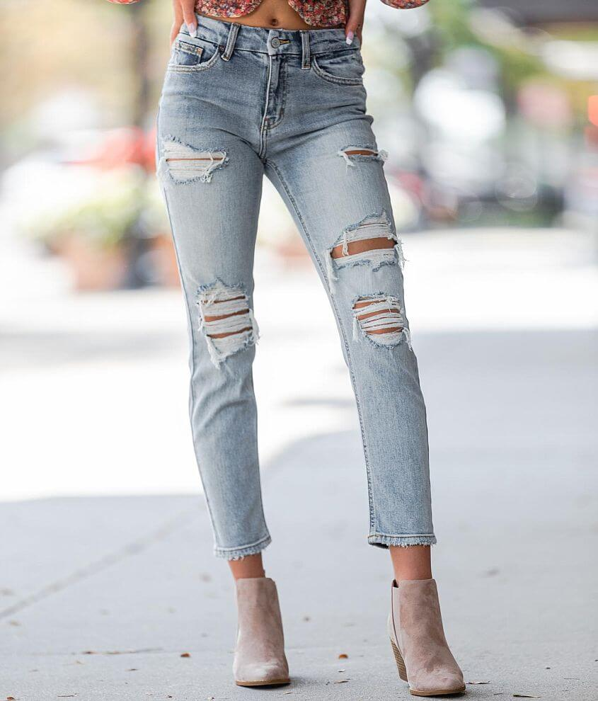 Willow & Root High Rise Ankle Stretch Jean front view