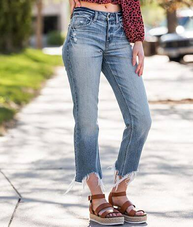 Willow & Root High Rise Straight Stretch Jean