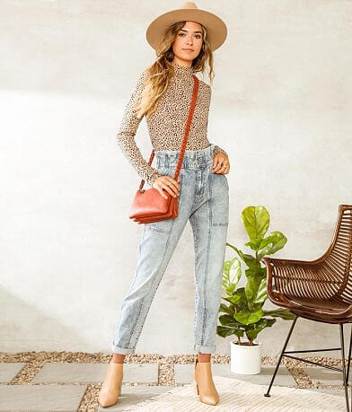 Willow & Root The Paperbag Stretch Jean