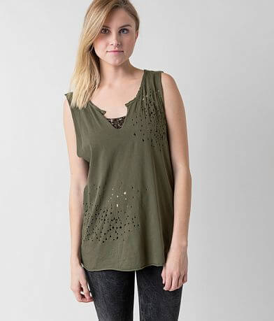 Knot Sisters Raw Edge T-Shirt