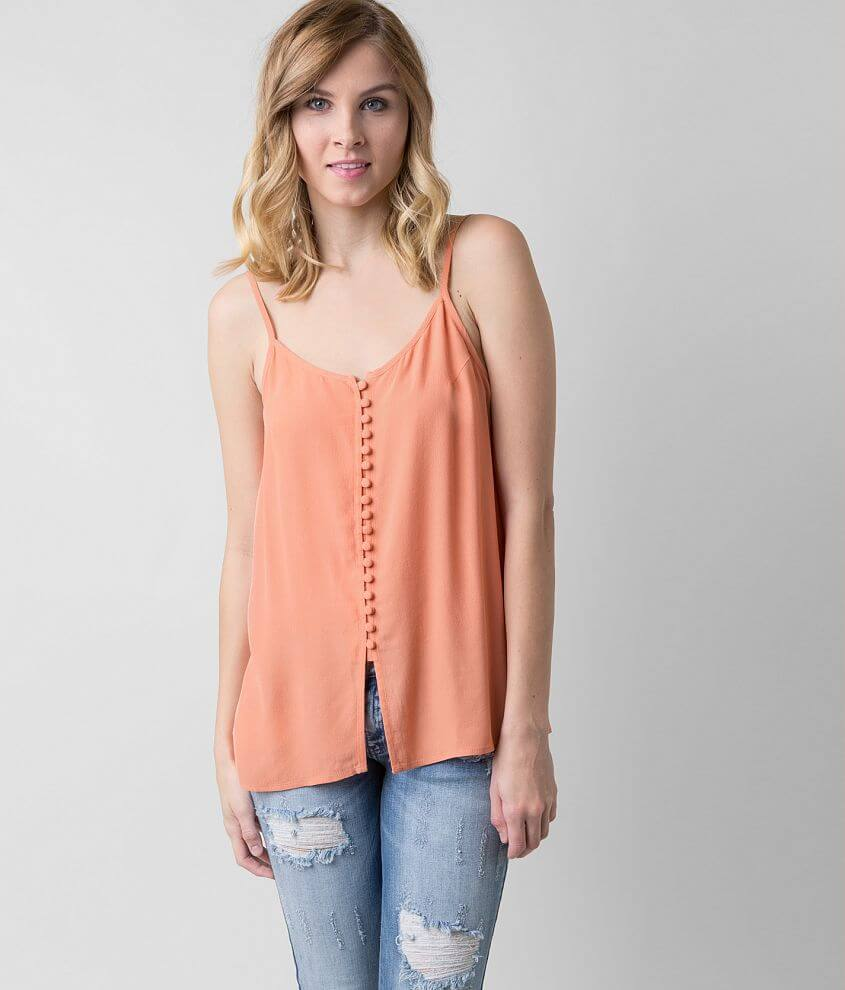 Knot Sisters Gauze Tank Top front view