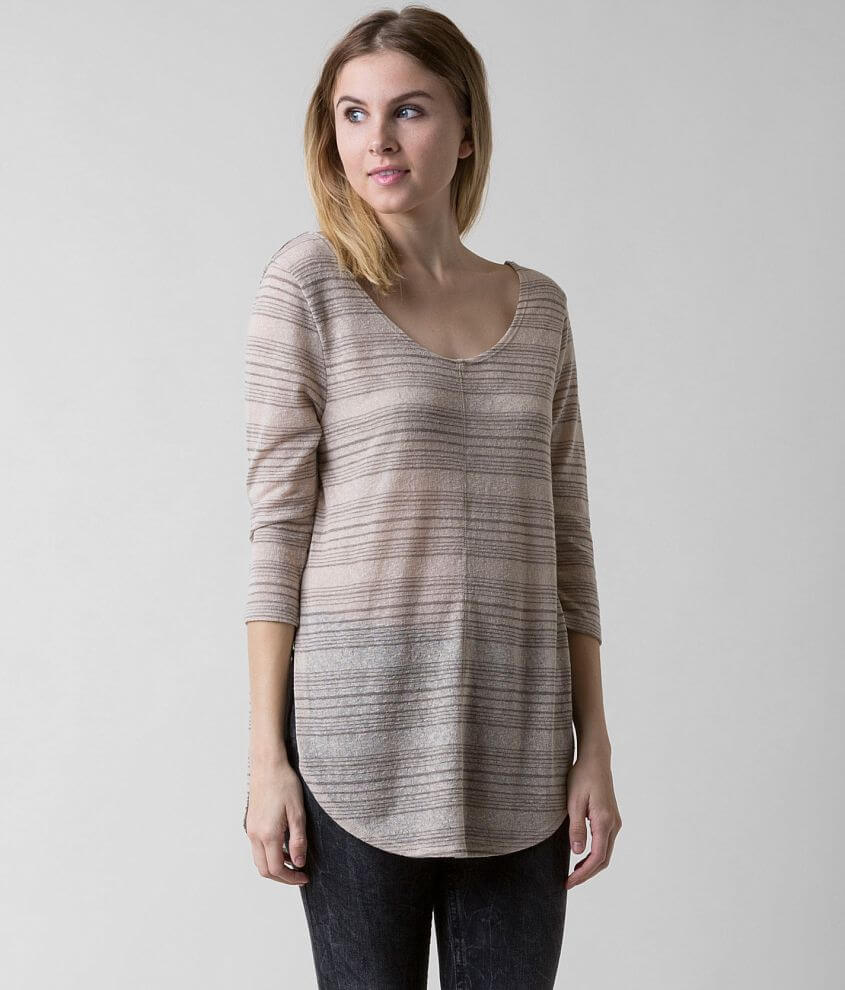 Knot Sisters Striped Top front view