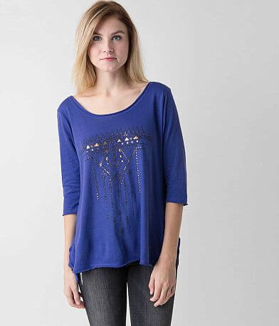 Knot Sisters Raw Edge Top