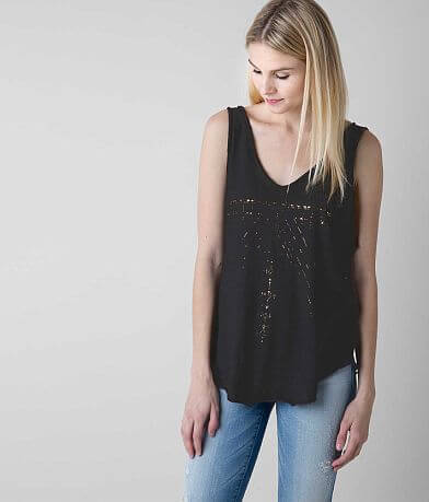 Knot Sisters Foiled Tank Top