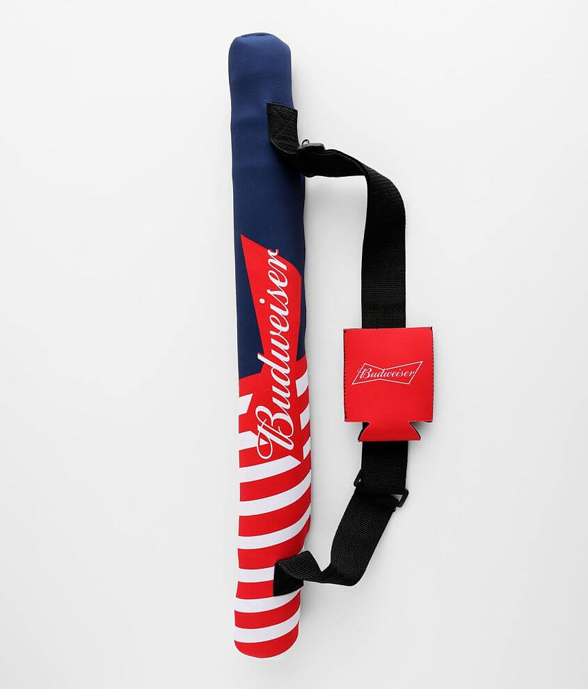 Budweiser Sling Can Cooler Bag front view