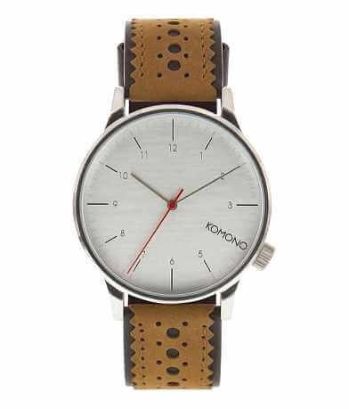 Komono Winston Brogue Watch