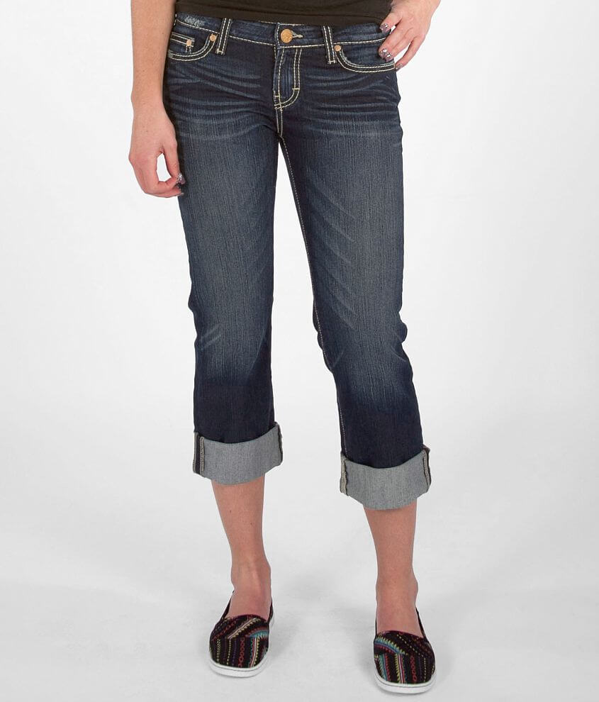 fa2142d53b BKE Payton Stretch Cropped Jean - Women s Crops Capris in Thurman 3 ...