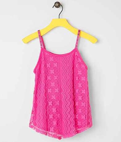 Girls - Side of Fries Crochet Tank Top