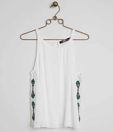 BKE Boutique Embroidered Tank Top