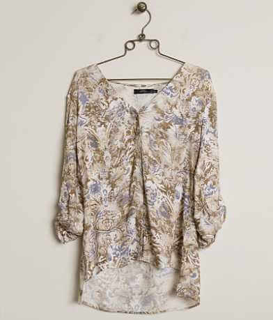 BKE Boutique Printed Shirt