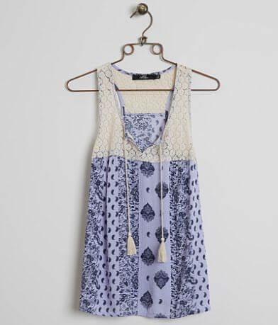BKE Boutique Printed Tank Top