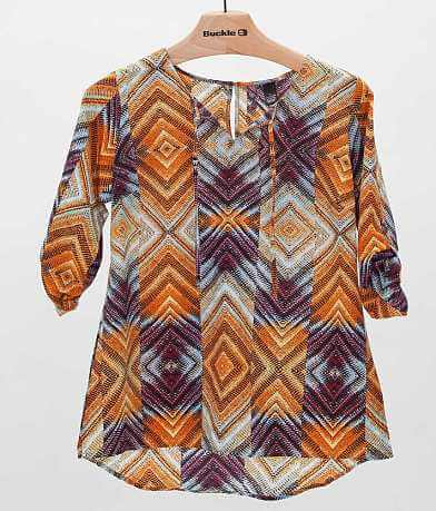 BKE Boutique Printed Top