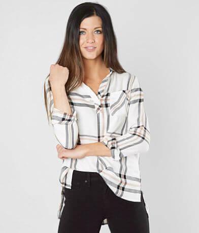 BKE Plaid Woven Shirt