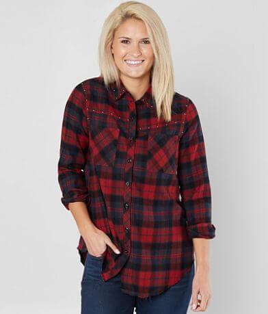 BKE Studded Flannel Shirt