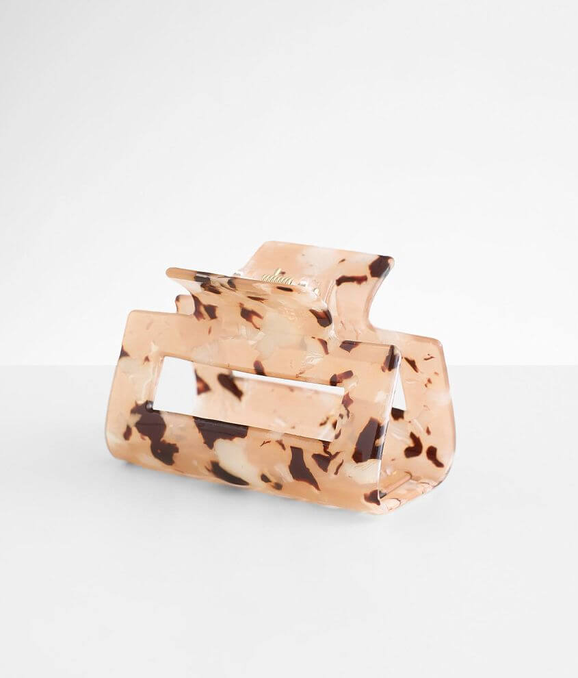 BKE Marbled Hair Claw Clip front view