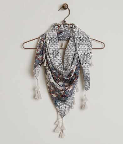 evelyn K Tassel Scarf